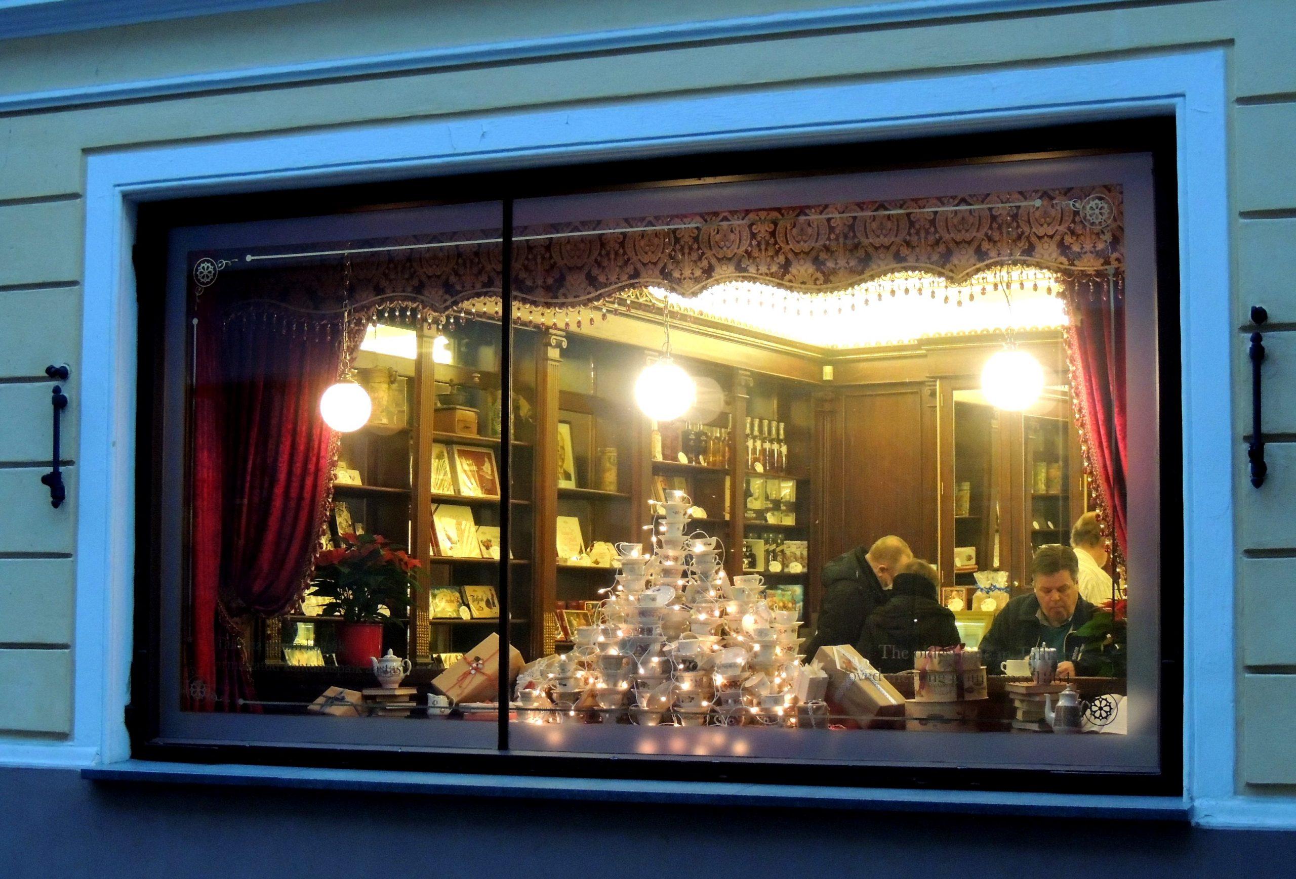 Maiasmoka kohviku jõuluaken 2014