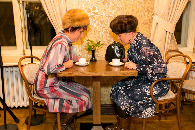 Kohviku külastajate mood läbi aegade