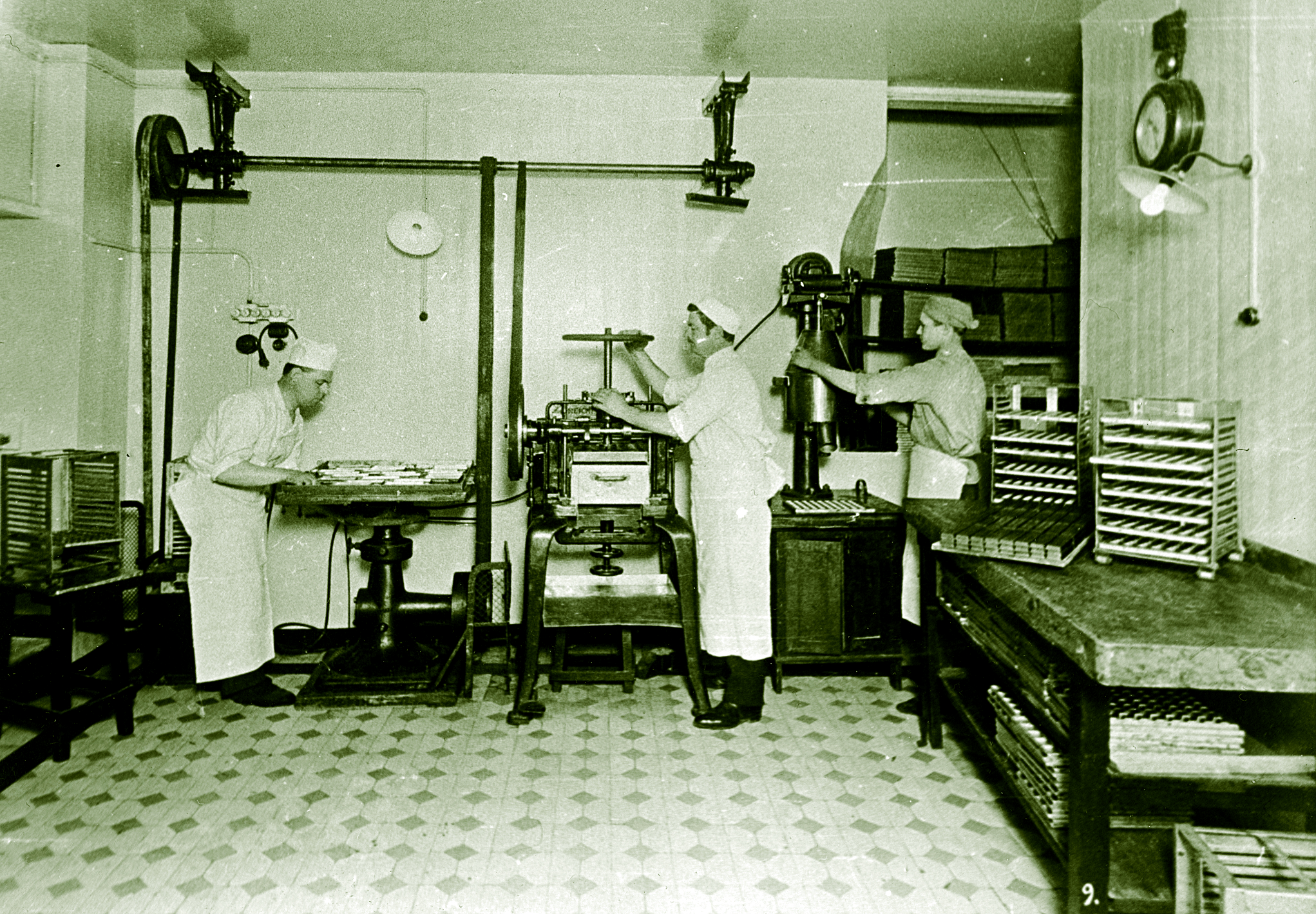 Tootmine Georg Stude ajal